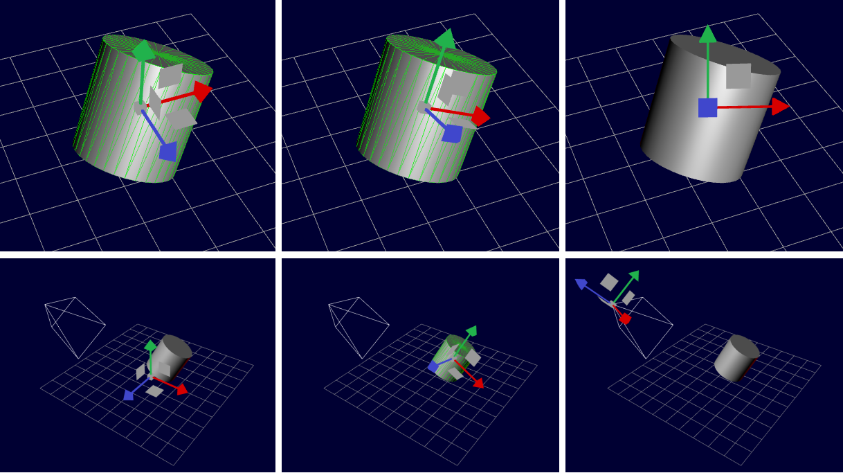 Translate, Rotate, and Scale Manipulators in 3D Modelling Programs